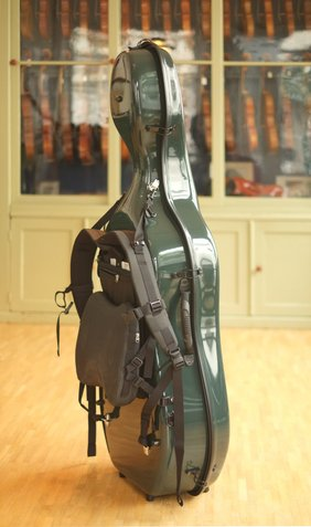 cello case with fiedler carrying system